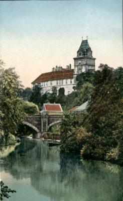 Brandýský zámek v roce 1910
