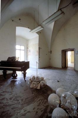Rekonstrukce sálu na zámku v Brandýse