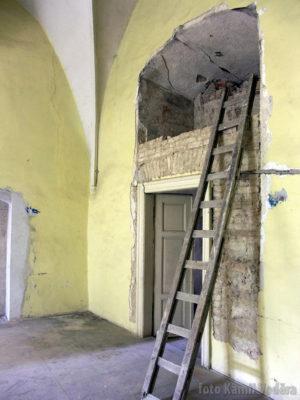 Rekonstrukce zámku v Brandýse