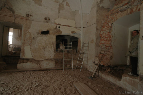 Rekonstrukce zámekcých prostor