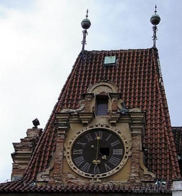 Věž zámku v Brandýse před rekonstrukcí